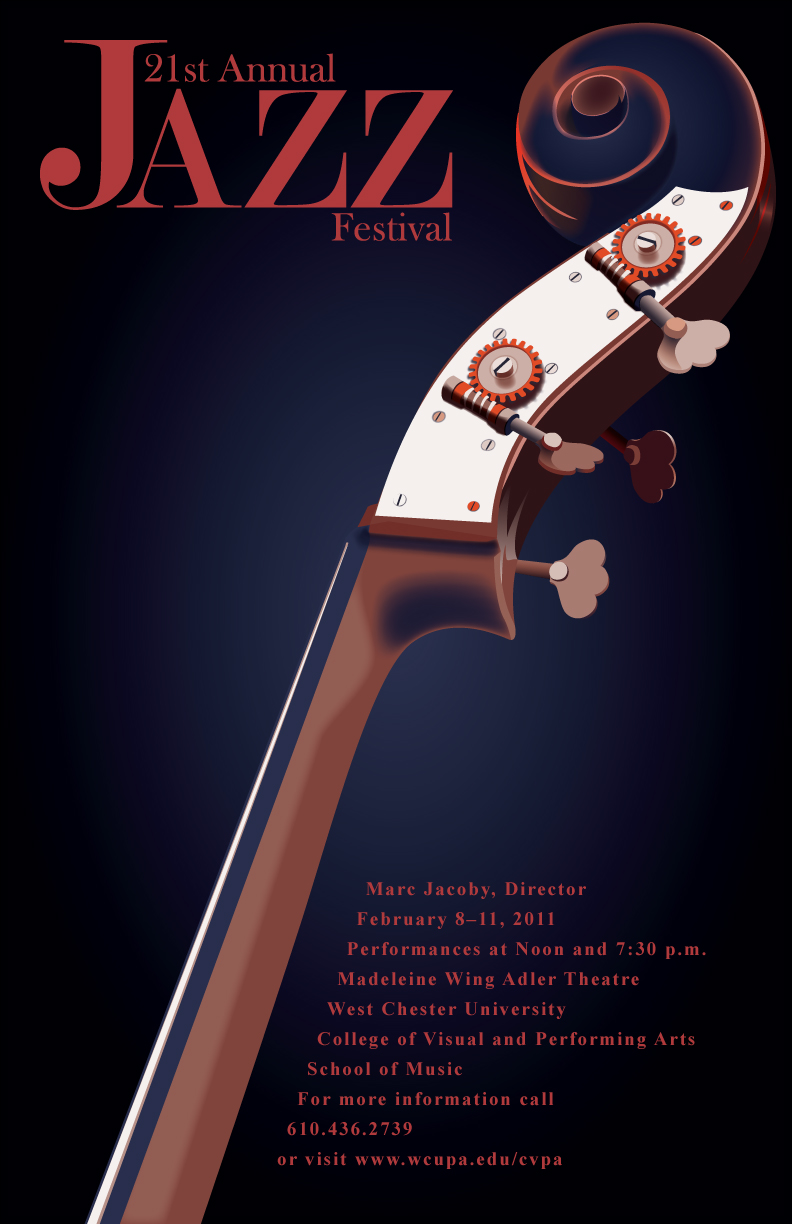 21st Annual Jazz Festival poster