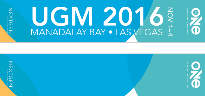ONE UGM 2016 Email Banners